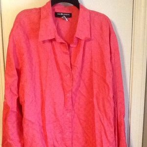 Button down top by Sag Harbor size 3X